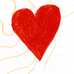 Kid's Picture Heart