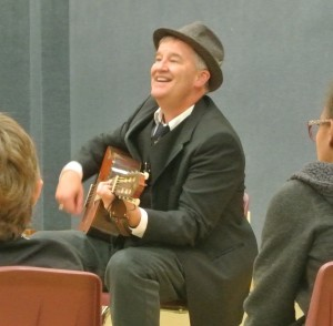 Brother Van has always loved singing for and with the children!