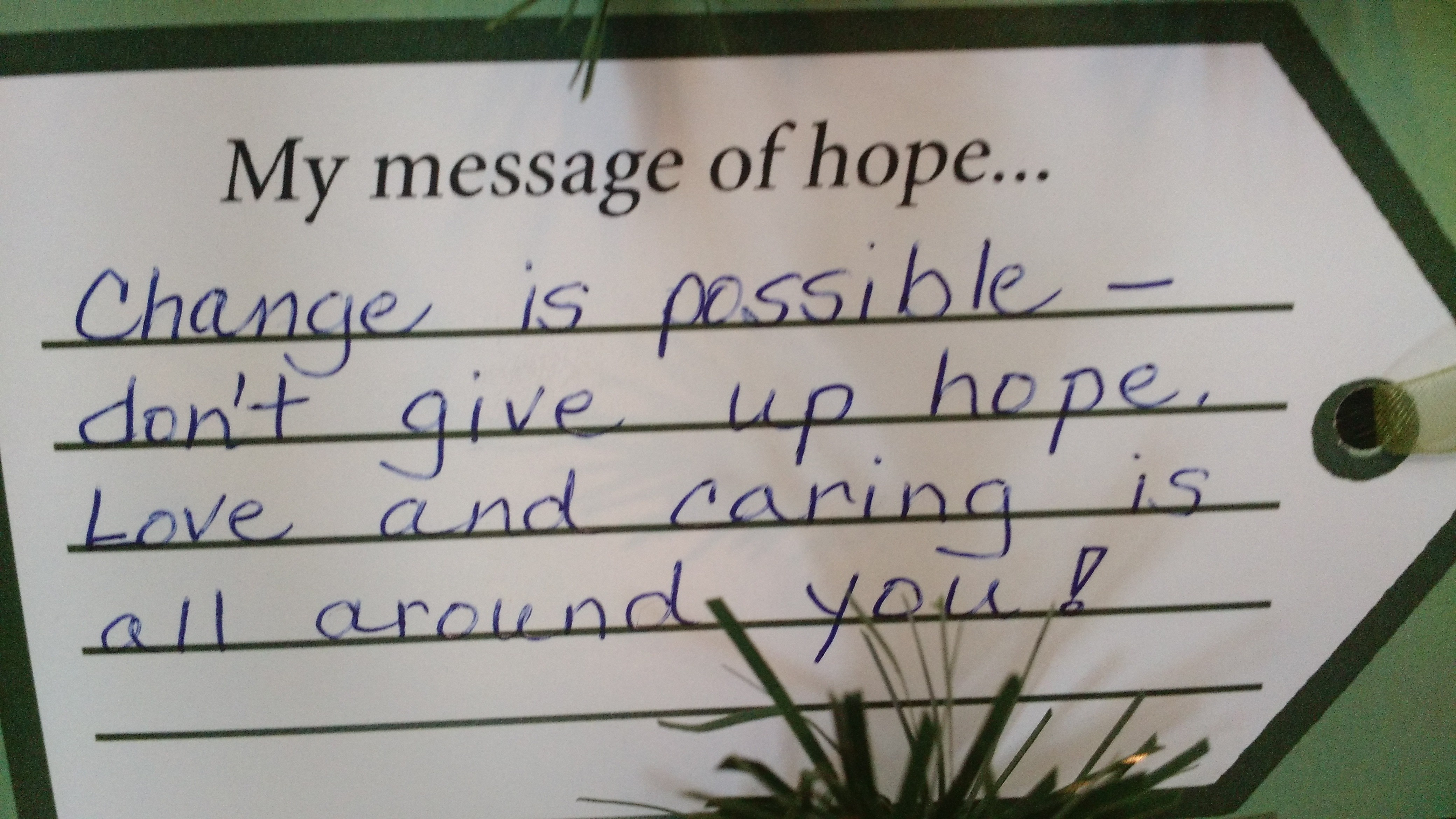 Your messages of hope for our children » Intermountain Ministry