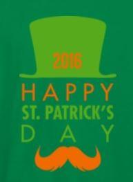 The 2016 Intermountain St. Patrick's Day shirt