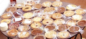 The people of Our Savior's Lutheran made and sold a LOT of pie!