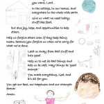 The Intermountain Children's version of the Lord's Prayer
