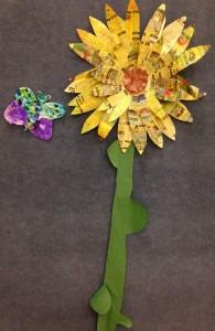 sunflower-butterfly