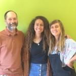 Jewish Mentor, Jim Nallick, and guests from Israel, Sarah and Ayala